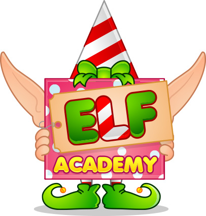 Elf Academy vector